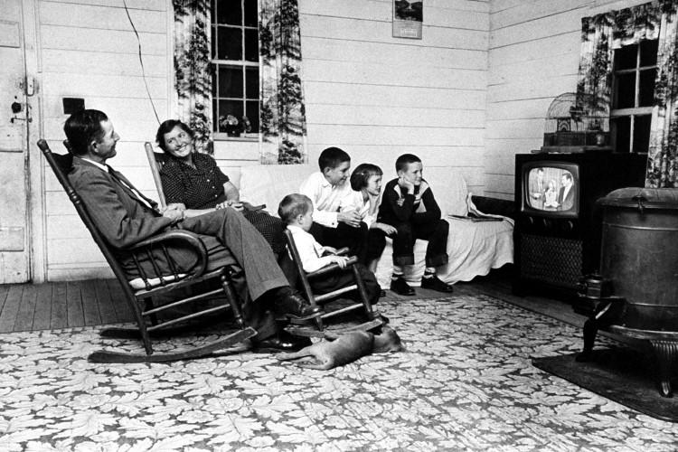 televisione anni 50
